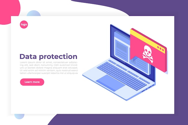 Laptop virus malware trojan-melding of waarschuwing