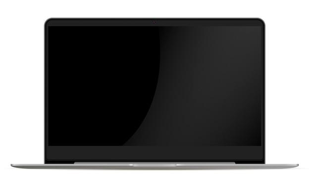 Laptop zwart scherm kopieer ruimte notebook pc
