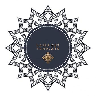Laser gesneden sjabloon