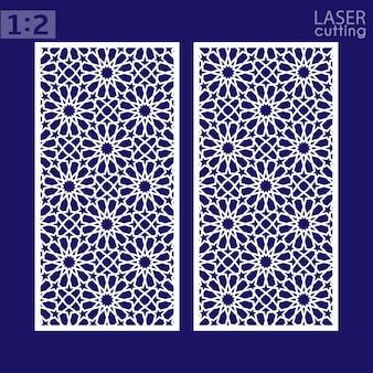 Lasergesneden oosterse stijl