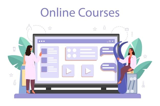 Lashmaker online service of platform