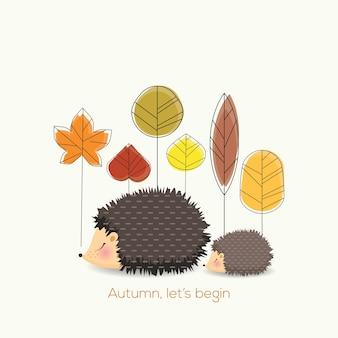 Laten we beginnen met de herfst