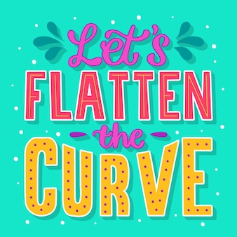 Laten we de curve-quote afvlakken