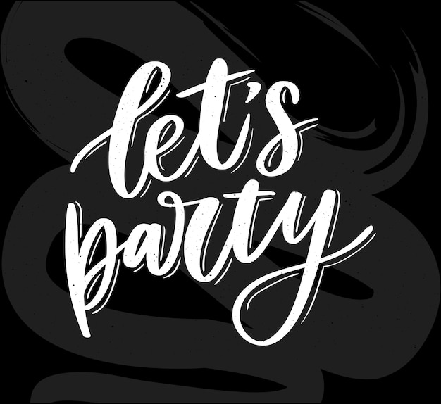 Laten we feesttekst