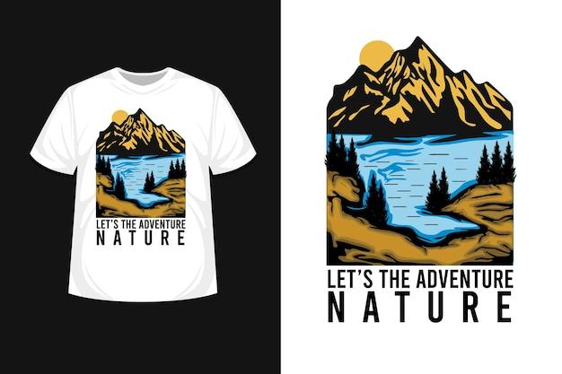 Laten we het t-shirtontwerp met de hand tekenen