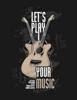 Laten we je muziek afspelen