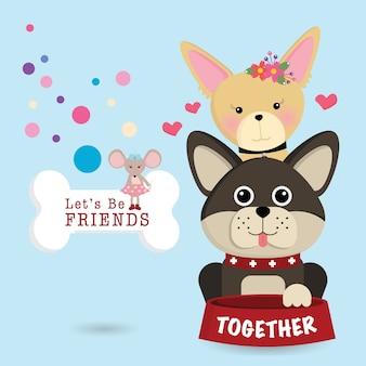 Laten we vrienden zijn