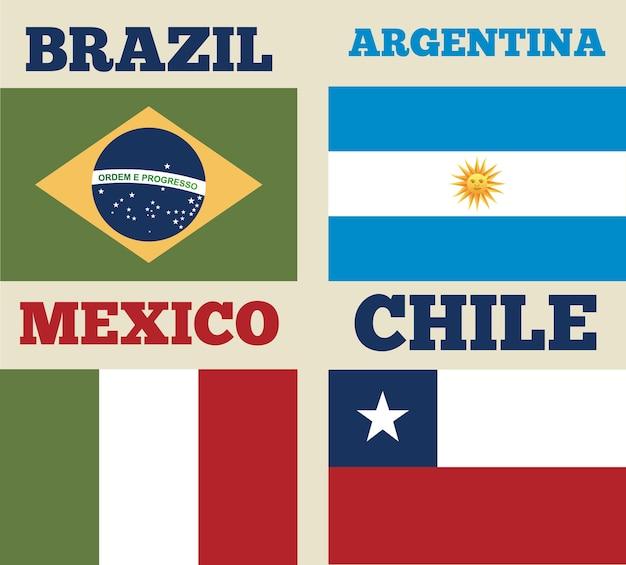Latijns-amerika ontwerp