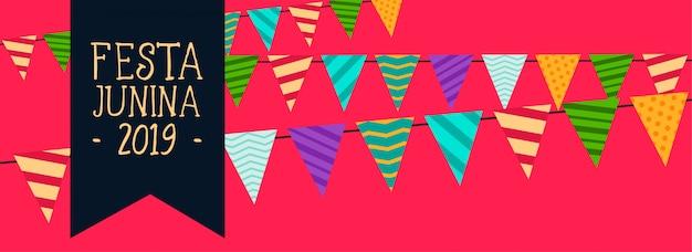Latijns-amerikaanse festa junina garland decoratie