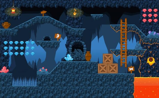 Lava game tileset