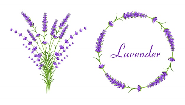 Lavendel boeketten
