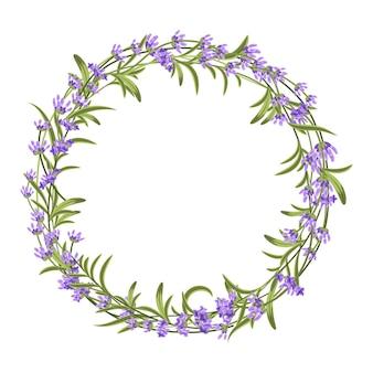 Lavendel krans