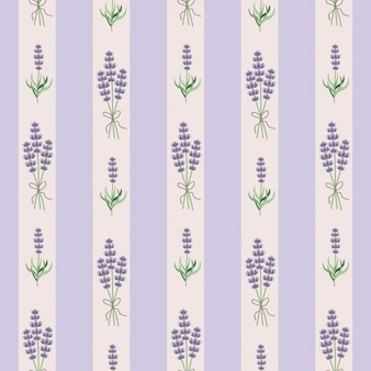 Lavender seamles behang