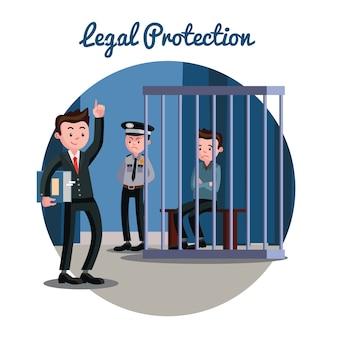 Law gerechtelijk systeem