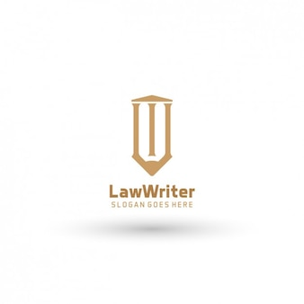 Law template logo