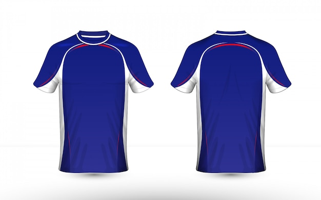 Lay-out e-sport t-shirt ontwerpsjabloon