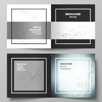 Lay-out van brochuremalplaatjes