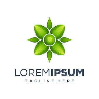 Leaf-logo klaar voor gebruik