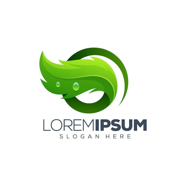 Leaf logo ontwerp