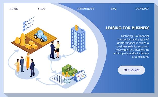 Leasing voor bedrijven, mensen die over gebouwen debatteren.