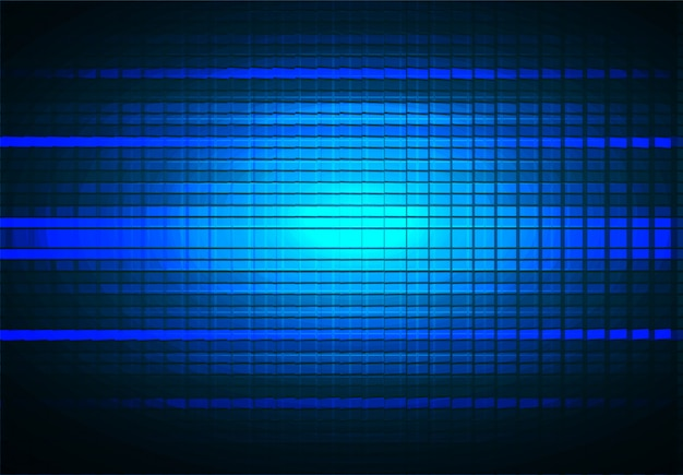 Led-bioscoopscherm voor filmpresentatie. lichte abstracte technische achtergrond