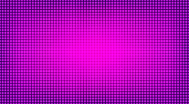 Led digitaal display. lcd-scherm textuur. vector illustratie.