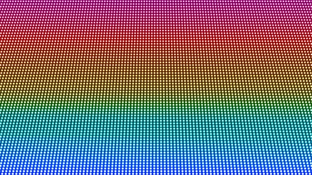 Led scherm textuur. pixel digitale achtergrond. elektronisch diode-effect. lcd scherm. projectorraster