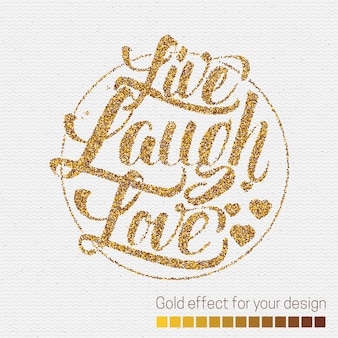 Leef lach heb lief.