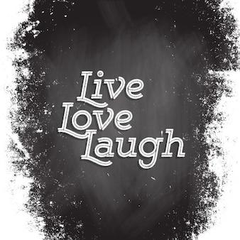 Leef, liefde en lach