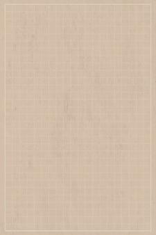Leeg beige briefpapierontwerp