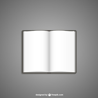Leeg boek illustratie