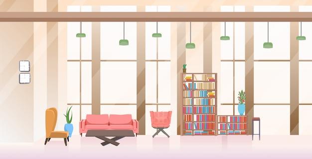 Leeg geen mensen wachtruimte lobby hal creatief kantoor interieur horizontaal