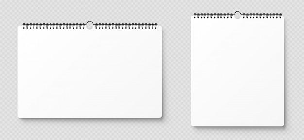 Leeg geopend notitieboekje, sjabloon met zachte schaduwen op transparante achtergrond. vooraanzicht.