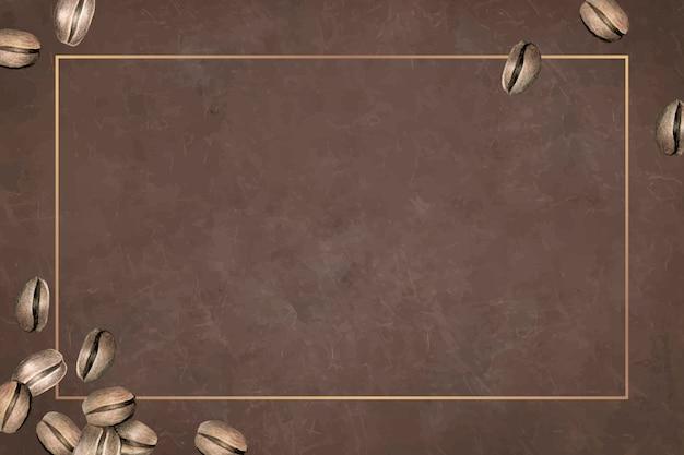 Leeg koffiedag achtergrondontwerp