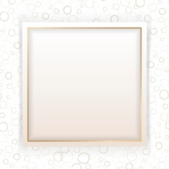 Leeg vierkant abstract frame