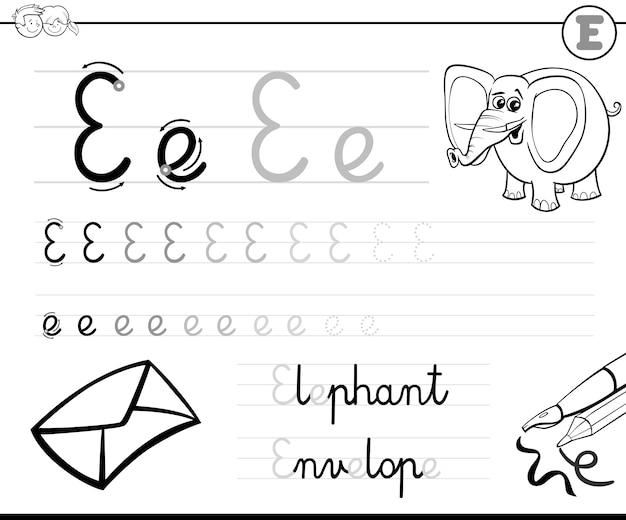 Leer brief te schrijven e
