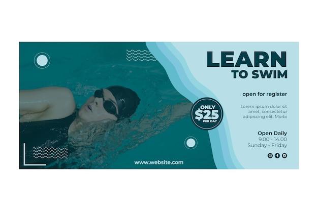 Leer om bannerontwerp te zwemmen