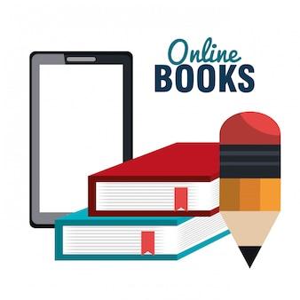 Lees boeken online ontwerp
