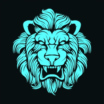 Leeuw gezicht