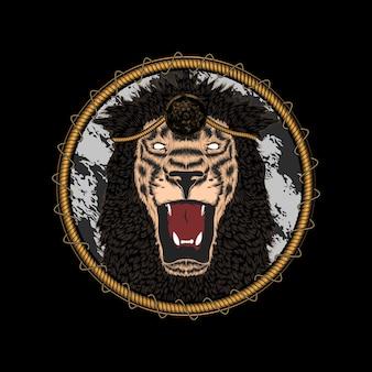 Leeuw illustratie