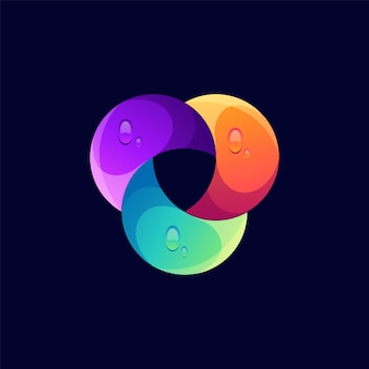 Leeuw logo ontwerp illustratie