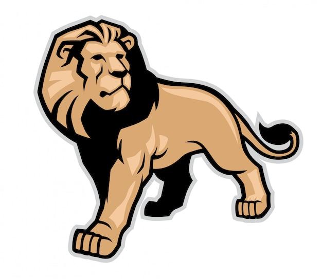 Leeuw mascotte