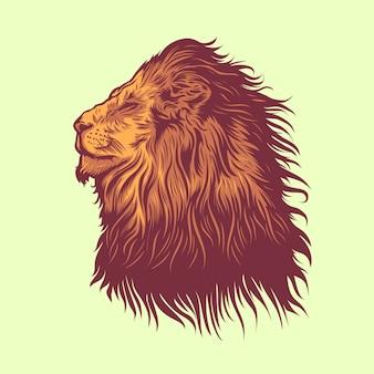 Leeuwen hoofd