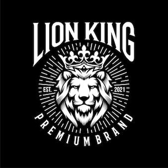 Leeuwenkoning logo sjabloon