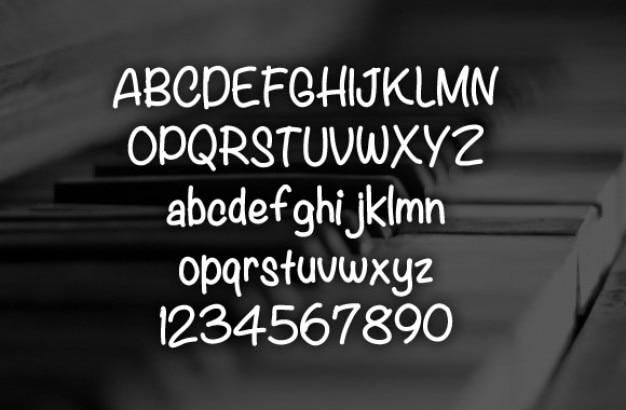 Legacy lettertype