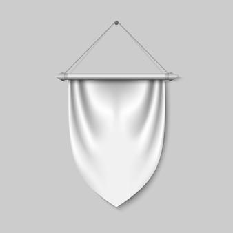 Lege 3d wimpel vlag