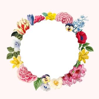 Lege bloemen kopie ruimte