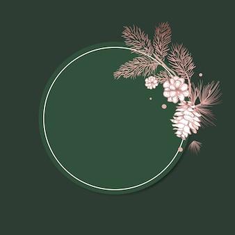 Lege bloemen uitnodigen