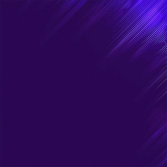 Lege paarse gevormde achtergrondvector
