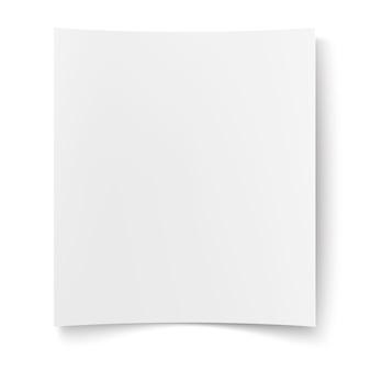 Lege poster, aanplakbiljet webbanner